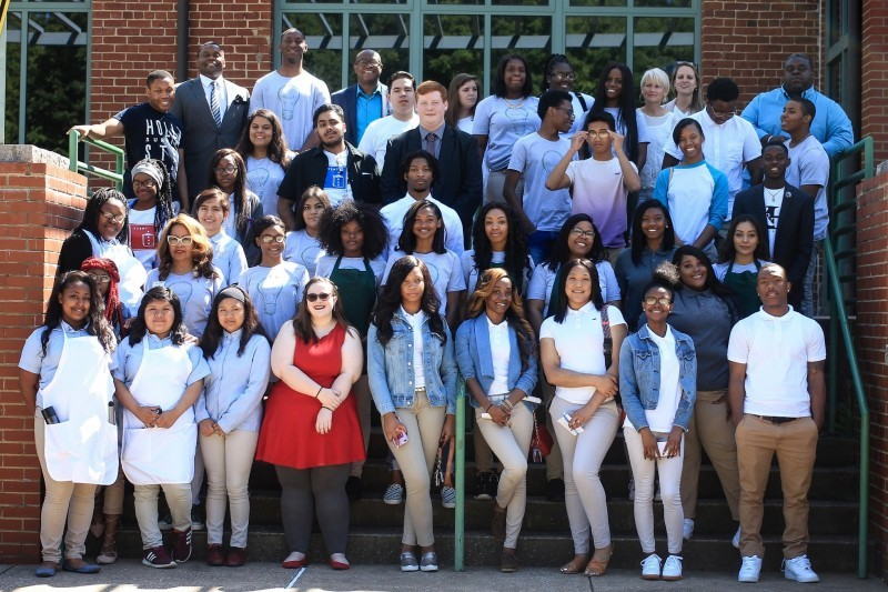 LAUNCH CHA High School Entrepreneurship Students, Spring 2018